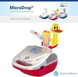 MicroDrop® Calimero2 Feucht-Inhalator / Inhalationsgerät für Kinder 0-6 Jahre