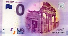 ITALIE Brescia, Il Capitolium, 2017, Billet 0 € Souvenir