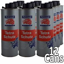 Tetrosyl Tetraschutz Shutz Body Rust Protector Underseal for Gun Spray 12 x 1ltr
