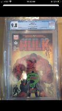 Hulk #1 atomic comics variant Rare CGC 9.8 1st red hulk appearance She Hulk Show