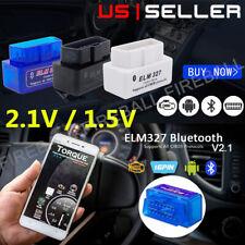 OBD2 Car Bluetooth Code Scanner Reader ELM 327 2.1V/1.5V  Automotive Diagnostic