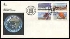 Sud Africa 1983 stazioni meteorologiche primo giorno Coperchio #C 13722