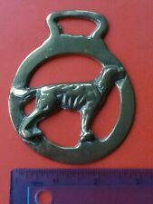 Horse Brass Labrador Dog