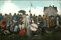 Native Americana - Sioux Indian Dance c1910 Postcard EXCELLENT COND