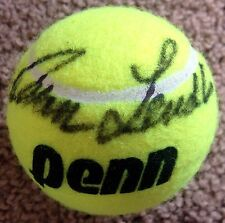 IVAN LENDL Signed Autographed Tennis Ball, Penn, Int Tennis Hall of Fame, HOF