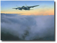 Top Dog (RAF Ed) by Robert Taylor - Mosquito LR503 - 5 Signatures - 109th