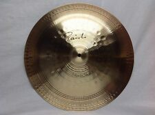 "Paiste Signature 18"" Heavy China Cymbal/Brand New With Warranty"