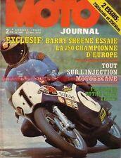 MOTO JOURNAL  144 Barry SHEENE SUZUKI TR 750 HONDA MT Elsinore KTM 250 Enduro 73
