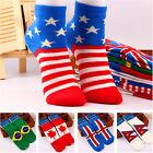 1 Pair Men's National Flag Ankle Socks Low Cut Crew Casual Sport Cotton