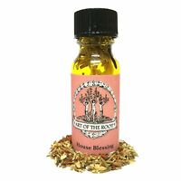 House Blessing Oil Good Fortune, Blessings, Protection Hoodoo Voodoo Wicca Pagan