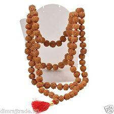 Rudraksha Rosary / 7 Mukhi Seven Faced /Mahalaxmi puja Mala 108+1 RELIGIOUS EDH