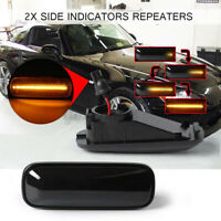 Pair Dynamic LED Side Indicator Light For Honda CR-V Civic ALL Models