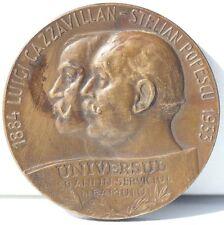 MEDAILLE EN BRONZE - ROUMANIE - UNIVERSUL - 1933 - D. 5 cm