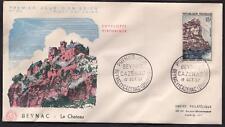 N°:1127. BEYNAC ENVELOPPE PREMIER JOUR  DU 19.10.1957 COTE: 3 €