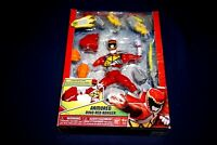 MIGHTY MORPHIN POWER RANGERS ARMORED DINO RED BANDAI 2014 6 INCH ACTION FIGURE
