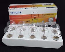 P21W PHILIPS Vision Premium Rücklicht Bremslicht 10 Stück 12498CP