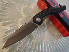 """Kershaw Reverb Carbon Fiber Carabiner Pocket Knife 8Cr13MoV 1220 6.3"""" Open G10"""