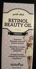 Youth Elixir Retinol Beauty Oil Dolled Up 1 fl oz New & Factory Sealed