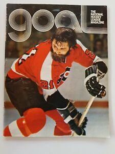 1974 DETROIT RED WINGS VS PHILADELPHIA FLYERS issue of Goal
