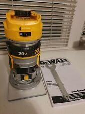 DEWALT DCW600 20V MAX XR Cordless Compact Router - NEW