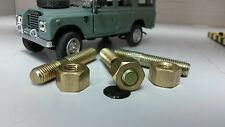 Land Rover Series 1 2 2a 3 Exhaust Stud & Brass Nut 5/16 UNF RTC3629 x3 set