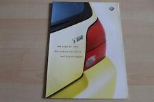 97837) VW Lupo 3L TDI - technische Daten & Ausstattungen - Prospekt 04/2002