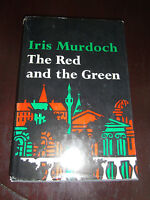 THE RED AND THE GREEN Iris Murdoch Easter Rebellion WWI BCE Viking 1965