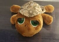 Russ Berrie Soft Toy Shelby Turtle Camoflauge Plush