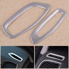 Stainless Steel Dashboard Air Condition Vent Frame Cover Trim Fit for Volvo V60
