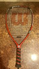 "Wilson Racketball Racquetball Titanium Racket Swain Slam Cliff Ss 3 5/8"" Euc"
