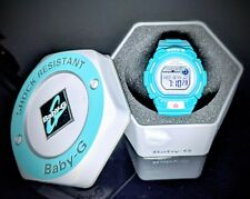 Women G-Shock Casio Baby-G BLX-102 G-Lide Light Blue MINT CONDITION!!
