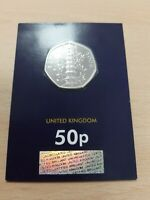 2019 Kew Gardens 50p Brilliant Uncirculated BUNC  Sealed & Certified New Genuine
