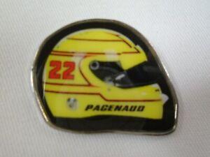 #22 Simon Pagenau Team Penske Driver Helmet Collector Lapel Pin Indianapolis 500