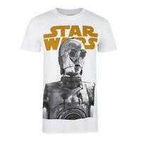 Star Wars - C3PO - Official - Mens - T-shirt - White - Sizes S-XXL