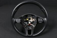 59.941km VW Touareg 7P Leder Lenkrad Multifunktionslenkrad MFL steering wheel
