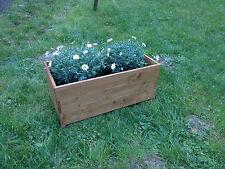 """Blumenkasten braun """" Nussbaum"""", Blumenkübel, Pflanzkübel"""