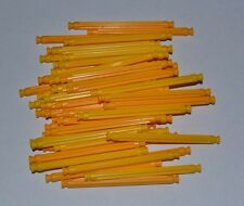 "lot of 50 K'Nex yellow standard 3 7/16"" rods -combined shipping"
