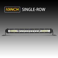 "10"" 816W barre de led light bar 10-30V Offroad Phare de travail 4x4 Singal Rampe"
