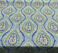 Waverly Dena Home Coconut Row Poolside Blue Fabric By the Yard