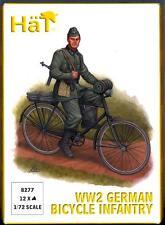 HaT Miniatures 1/72 GERMAN WORLD WAR II BICYCLE INFANTRY Figure Set