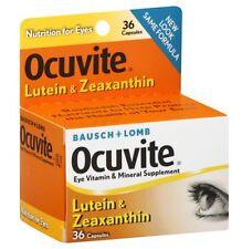 Bausch & Lomb Eye Vitamin Ocuvite Lutein & Zeaxanthin 36 Each