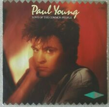 """Paul Young, Love Of The Common People 7"""", CBS Records"""