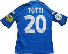 MAGLIA TOTTI KAPPA ITALIA EURO 2000 MINT XL 20 no MATCH WORN SHIRT CAMISETA
