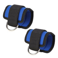 2PC Gym Exercise Fitness Ankle Strap Belt Strength Muscle Training Pull Leg Band