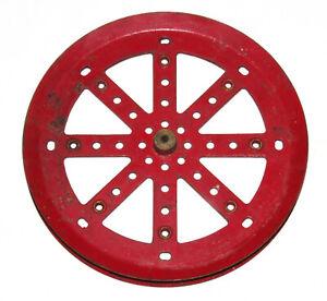 """Meccano 6"""" diameter Pulley - Part 19c"""