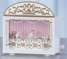 "6.25"" BALLET Ballerina MUSICAL THEATRE Music Box Plays Sleeping Beauty 65592"