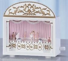 "6.25"" BALLET Ballerina MUSICAL THEATRE Music Box Plays Sleeping Beauty 65592"