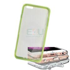 For Apple iPhone 6 Plus Slim Anti-Dust Phone Case - Green Transparent