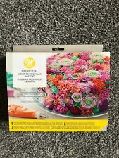 Wilton Master Tip Set 55 Decorating Tips, Couplers, Flower Nails, Tip Organizer