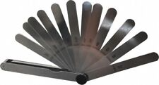 Starrett 13 Piece 00015 To 02 Thick Parallel Feeler Gage Set